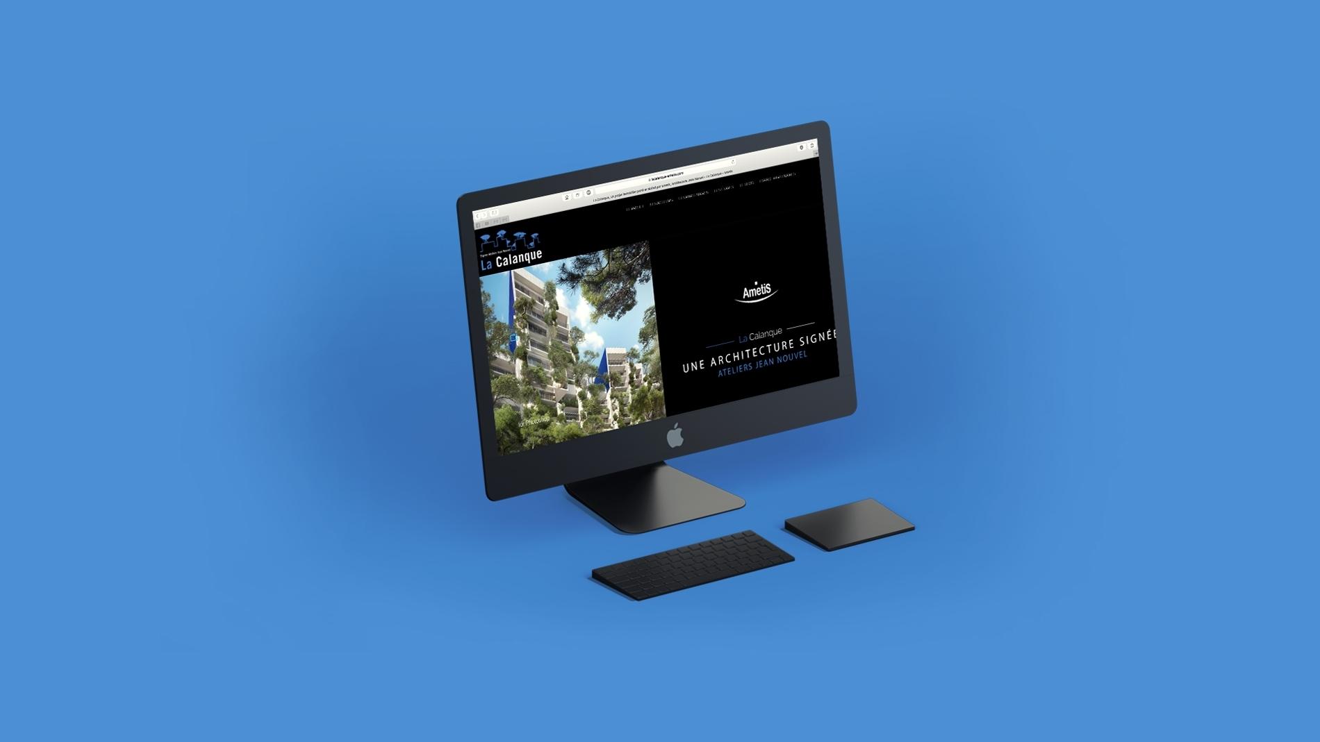 Site internet - La Calanque